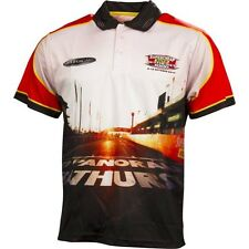 BATHURST 1000 2014 V8 SUPER CARS MENS SUBLIMATED POLO SHIRT SUPER CHEAP