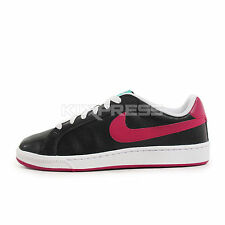 WMNS Nike Court Majestic [454256-006] NSW Casual Black/Raspberry Red