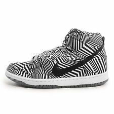 Nike Dunk High Premium SB [313171-103] Skateboarding Concept Car White/Black