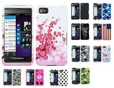 Two Piece Hard Snap on Design Protective Cover Case for Blackberry Z10
