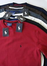 Polo Ralph Lauren Waffle Pajama Lounge Top New w Tags 100% Cotton M L XL XXL NWT