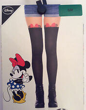 PRIMARK Ladies DISNEY MINNIE MOUSE Peek-A-Boo Fashion Stockings Tights Pantyhose