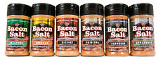 J&D's BACON SALT Flavored Seasoning Dry Rub Many Flavors Pick Yours, Great Gift!