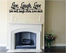 Live Laugh Love Cheap Vinyl Wall Decals