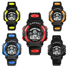 Useful Men's Boys' Date Alarm Stopwatch Sports Led Digital Rubber Wrist Watch