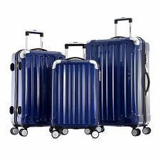Olympia Whistler 3 piece Airline Outdoor Travel Rolling Luggage SuitCase Set
