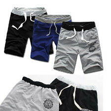 Fashion Men Cotton Shorts Pants Gym Sport Jogging Trousers Casual Excellent