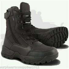 MILITARY SPECIAL OPS BLACK BOOTS ZIP UP SIZE 4 - 12 MENS FISHING BRITISH ARMY