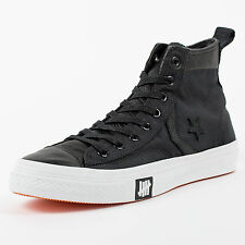 CONVERSE X UNDEFEATED BALLISTIC STAR PLAYER FS 3 HI BLACK WHITE 124132 UNDFTD
