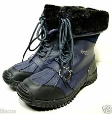 Apple Bottom Women's Narele Snow Boots in Blue Color Size 9 - New w/ Defects