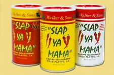 SLAP YA MAMA SEASONING ORIGINAL HOT WHITE PEPPER creole free new orleans recipe