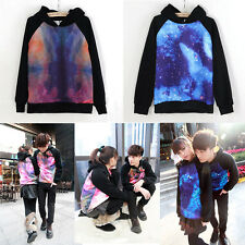 Women Mens Galaxy Comic Stars Sweater Couples Tops Shirt Jumper Hoodie UK-KW