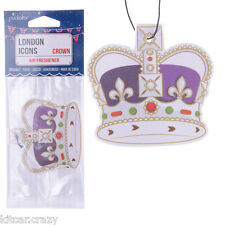 LONDON ICON CROWN AIR FRESHENER, COCONUT, CAR, HOME, OFFICE