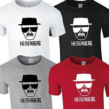 HEISENBERG T SHIRT TOP TEE BREAKING BAD WALTER TSHIRT LOS POLLOS HERMANOS TV