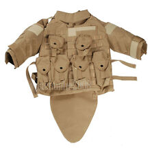 TACTICAL AIRSOFT PAINTBALL OTV COMBAT VEST MULTI COLORS