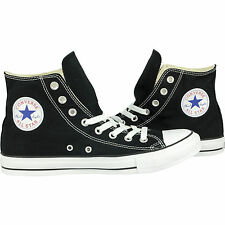 Converse Classic Chuck Taylor All Star HI High Black Trainer Lace Up NEW**