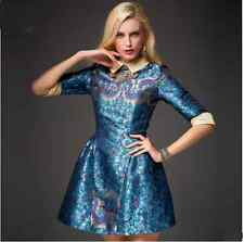 5047 # / 2014 new fashion doll collar sleeve dress sub-end women's