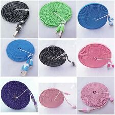 10 feet Long USB 8 Pin Data Charger Cable Color For iphone 5 5S ipod Touch 5