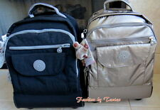 New with Tag Kipling Sanaa Wheeled Backpack with Furry Monkey