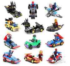 DC/Marvel Batman, Superman, Spiderman, Thor Vehicles LEGO® Brand Toy Compatible