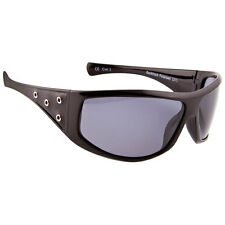Carve Backtrack Polarized Sunglasses Black Leather One Size