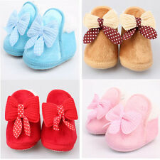 New Infant Baby shoes Walking Toddler Girls Boys Crib Shoes Soft Boots Excellent