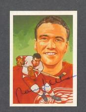 Norm Ullman signed Detroit Red Wings Hall of Fame hockey card