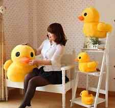 """Hot Sale LOVELY Duck  Soft Plush Toy Doll Yellow 8"""" 12"""" 19"""" 27""""  Free ship"""