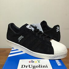 ADIDAS X NEIGHBORHOOD SHELLTOE sz 8-13 black bone M25785 superstar consortium