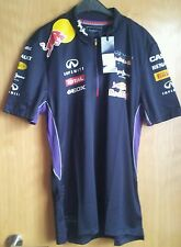 Red Bull Racing F1 Sebastian Vettel 2014 Teamline Racing Shirts, versch. Größen