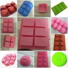 Various Shape Rectangle Oval Silicone Mold For Chocolate Cake Mould Soap Mould