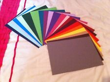 5 A4 SHEETS 240GSM CARD STOCK FREE POST 25+ COLOURS *YOU CHOOSE COLOUR*