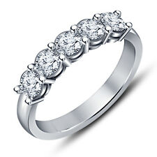 New ! Ladies Special Five Stone Ring in 925 Sterling Silver All Size Available