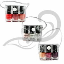 Technic Nail Varnish Mini Trio Pink Peach Coral Nail Polish French Manicure Set