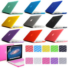"Rubberized hard Cover Crystal case for Macbook AIR 11"" 13"" PRO 13"" 15""+Retina"