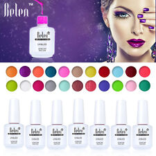 Belen Soak Off Gel Nail Polish 15ml Top Coat Foundation UV LED Lamp Long-lasting