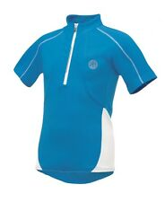 Dare 2b 'Race Away' Kid's Cycling Jersey - Blue - Perfect for Cycling or Running