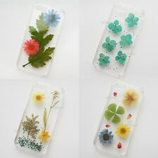 SALE Pressed Flower Art Handmade For iPhone Samsung Galaxy Phone Case Back Cover