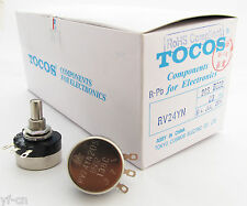 1pc Tocos Cosmos Potentiometer Pots RV24YN 20S 100kΩ Linear tapers RoHS 11 style