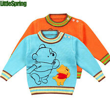 Little Bear baby sweater baby boys girls Knitwear winter kids clothes LZ-S0346