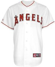 Los Angeles Angels MLB Majestic White Replica Baseball Jersey Big & Tall Sizes