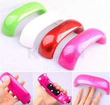 Portable 9W LED Nail Dryer Curing Lamp Manicure Pedicure Light Quick Drying