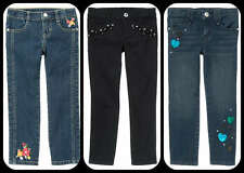 Gymboree NWT Jeans Multiple Styles:  Black Gem, Embroidered and Sequin Hearts  E