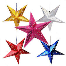 Xmas Decor Pentagram Lampshade Stars Lantern Hanging Wedding  Christmas Decor !!