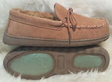 Men's Australian Sheepskin Moccasin Slipper Size 8 9 10 11 12 13 14 Best Quality