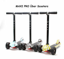 Maxi style scooter Über MaxiPro scooter New Boxed 6yrs+ 3 colours Tilt and Turn