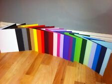 CARD BLANKS PRE SCORED A5 U CHOOSE COLOUR AND QUANTITY WITHOUT ENVELOPES