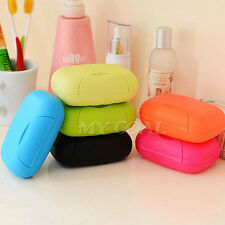 New Travel Soap Dish Box Case Holder Container Wash Shower Home Bathroom Outdoor