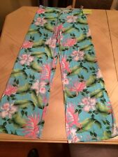 CIA MARITIMA BLUE ORCHID COVER UP PANTS Swimwear 3530-360  Sizes S M L Beachwear