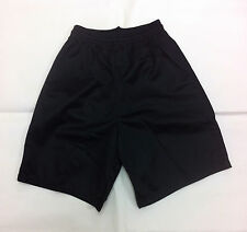 Alleson Youth Mesh shorts - 566PY - Black - size L - NWOT